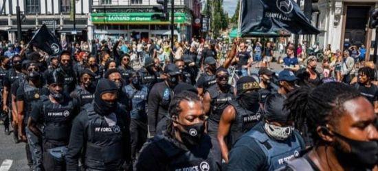 Brixton – Großbritannien – Schwarze paramilitärische Kräfte