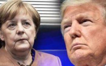 Trump vernichtet Merkel