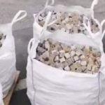 Bereit gestelle Pflastersteine für die Antifa