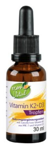 Vital Vitamin K2 + D3 Tropfen