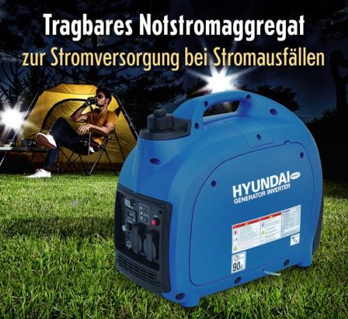 Hyundai-Stromgenerator HY2000Si D