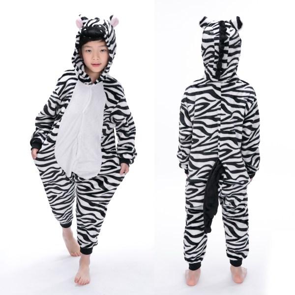 Zebra Onesie Animal Pajama Kid Kigurumi Halloween