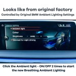 Hioume Add On Upgrade 64 Colour Ambient Lighting Breathing System Interior Lights For Bmw X3 X4 Series Use Original Lights Easy To Install Plug And Play Automatically Switch Colors Hioume