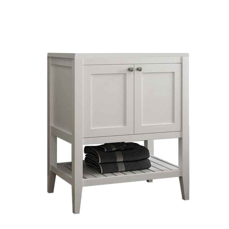 Vanguard Open Bottom Vanity White 24 Inch Wide X 21 Inch Depth Vanguard Collection Bathroom Vanities