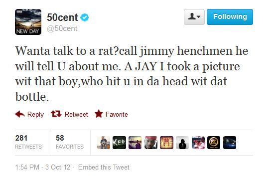 The Week's Best (And Worst) Celebrity Tweets: 50 Cent ...