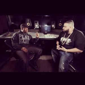 DJ Khaled and Sway