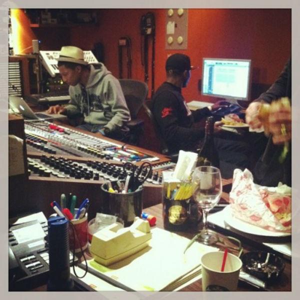 Pharrell studio 3