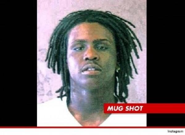 Chief Keef mug shot