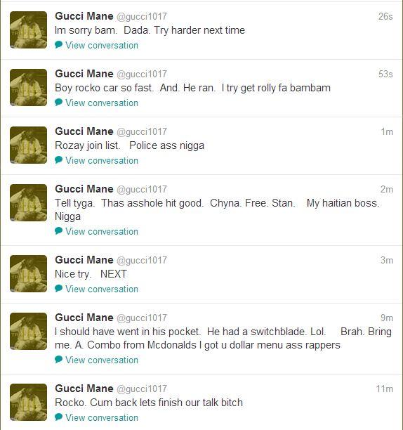 7fef104f0fa Gucci Mane continues Twitter rant