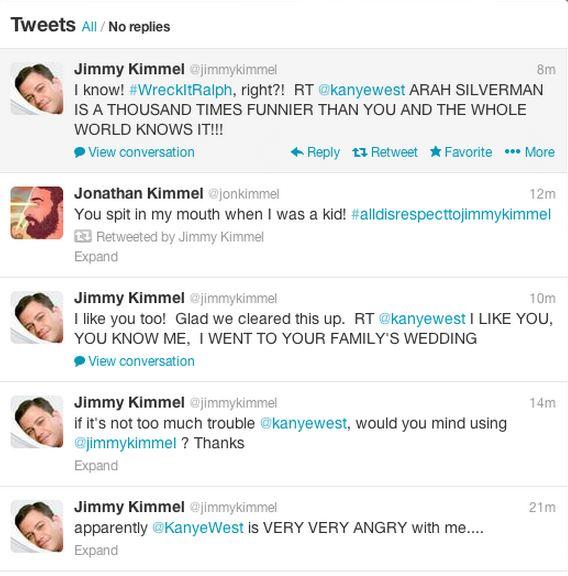 Jimmy Kimmel response