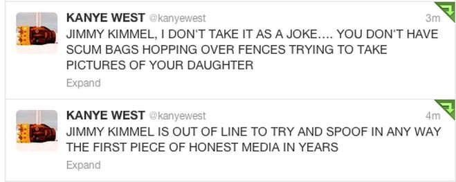Kanye West rant 2