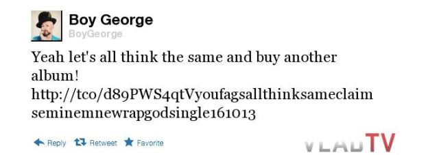 Boy George tweet 4