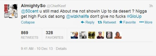 Chief Keef 50 Cent diss