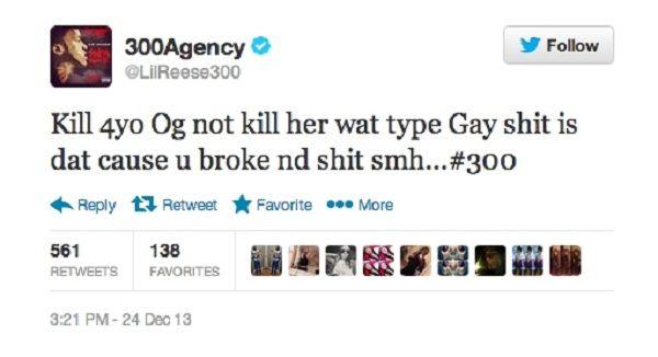 Lil Reese tweet