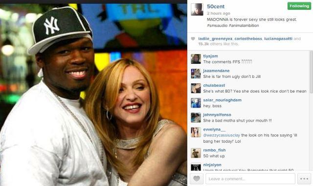 50 Cent Madonna IG