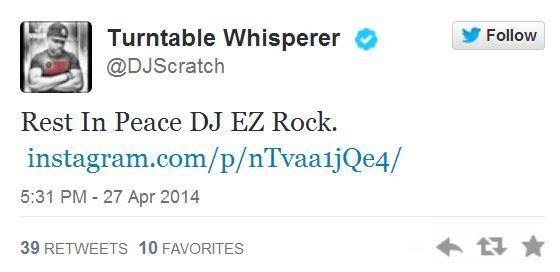 Scratch tweet