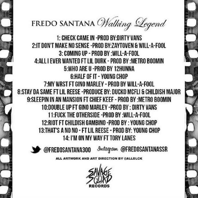 Walking Legend track listing