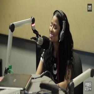 Nicki Minaj Power 106 2 pm