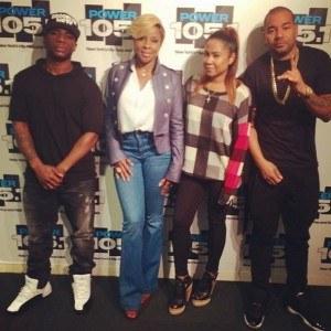 Mary J. Blige Breakfast Club
