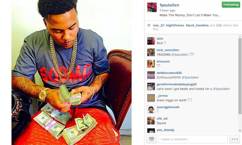 Paul Allen a lot of cash