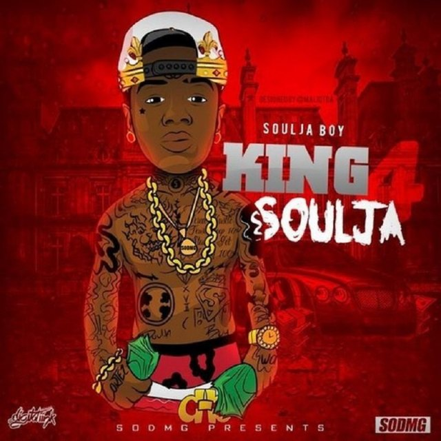 King Soulja 4 cover