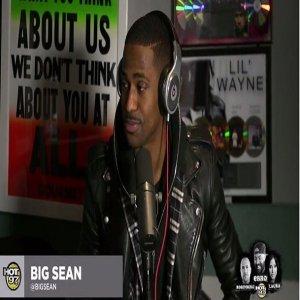 Big Sean Hot 97 2