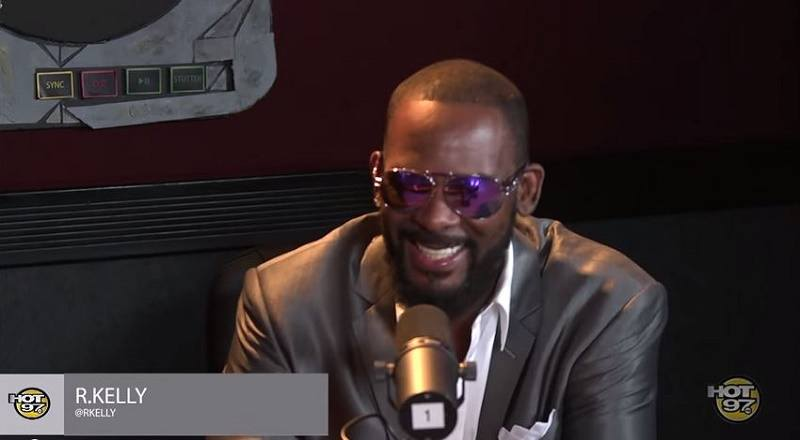 R Kelly Talks Weirdest Fan Story And Todays Status Of RB With Hot 97 VIDEO