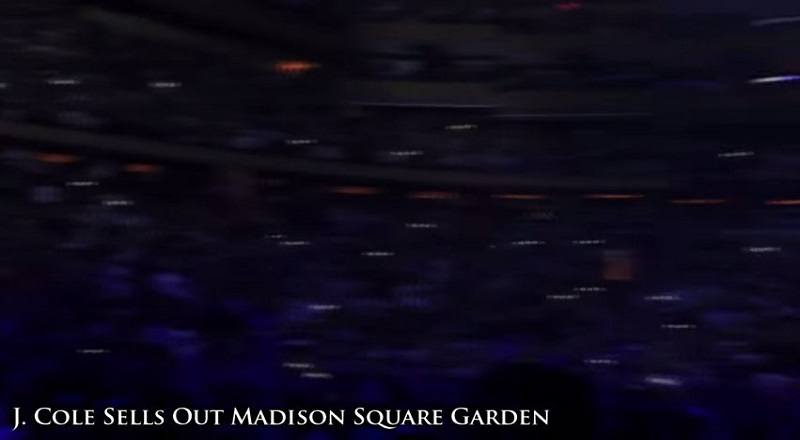 Tagged J. Cole Madison Square Garden New York City