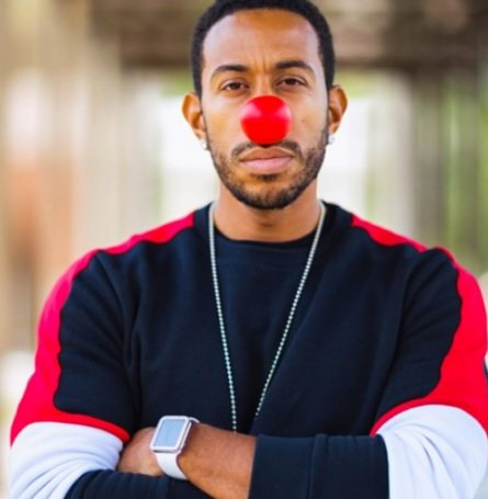 Ludacris REd Nose DAy Pic