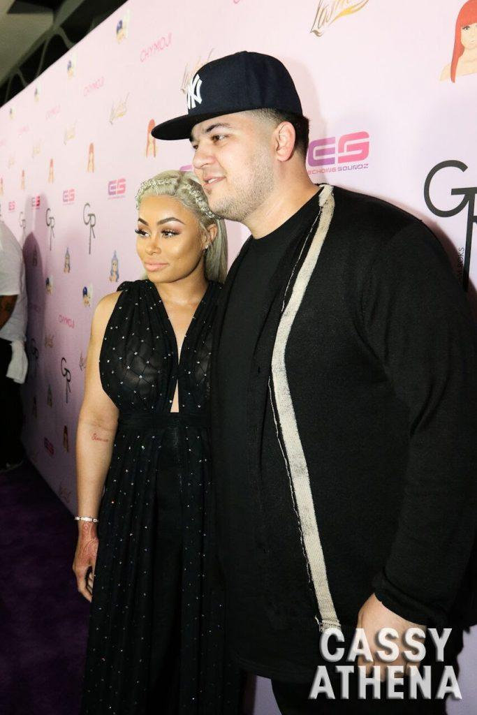 Blac Chyna Rob Kardashian
