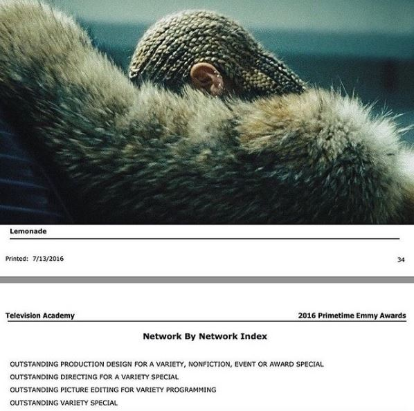 Beyonce2016emmys