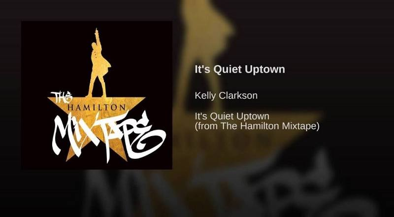 Image result for it's quiet uptown kelly clarkson