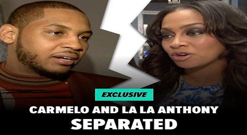 353cd55619b8f Lala and Carmelo Anthony disappoint  Knicks fan around the internet when  they separate… Honey Nut Cheerios
