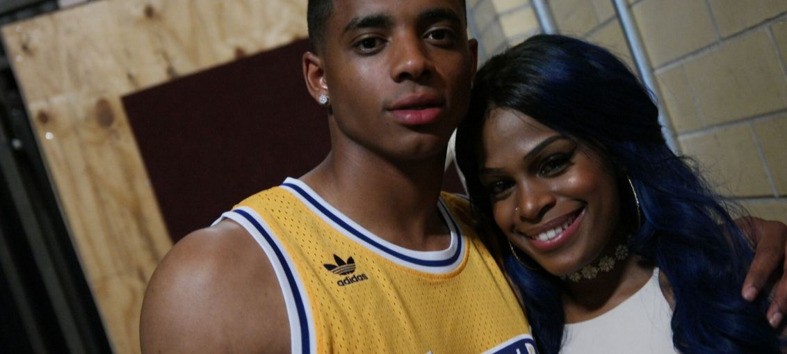 Cordell Broadus and Imani Scott
