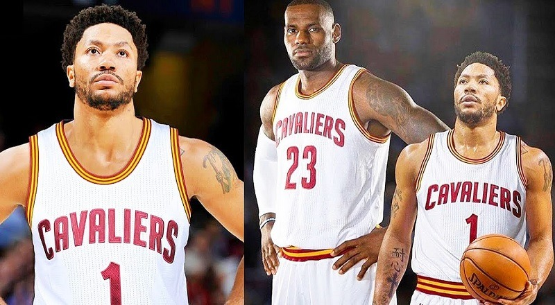 cheaper bd346 0d8d6 D. Rose to the Cavs! Derrick Rose signs 1-year, $2.1 million ...