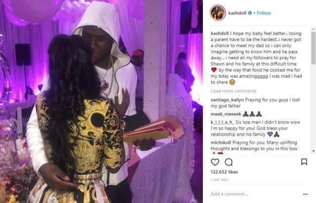 Kash Doll shares heartfelt message for Big Shawn, her