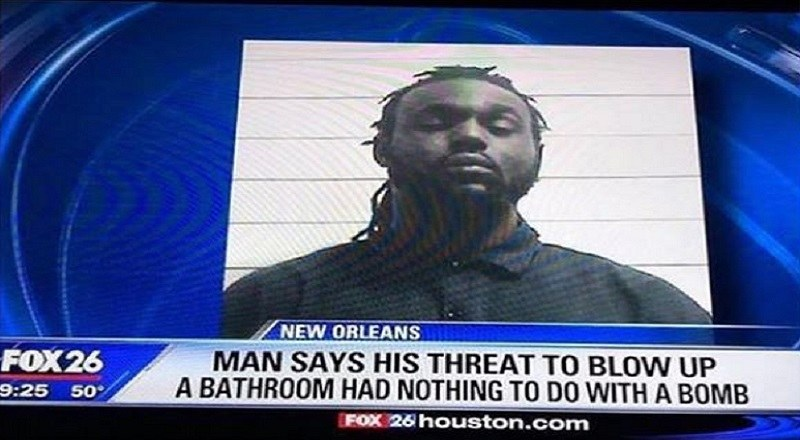 New Orleans Man Gets Arrested For Threatening To Blow Up A