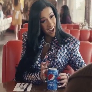 Okurrrr Watch The New Super Bowl Pepsi Commercial Starring Cardi B