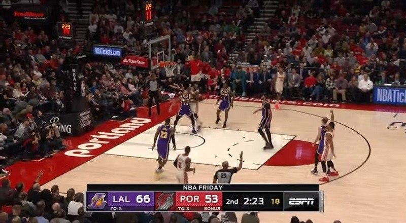 Los Angeles Lakers vs Portland Trail Blazers – Full ...