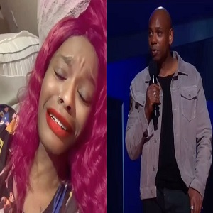 """Azealia Banks went on her Instagram Live, this morning, where she blasted Dave Chappelle. She claims she had sex with the famed comedian, calling it """"legendary."""" Once social media caught wind of Azealia Banks' Live, they began making jokes about Dave Chappelle, casting doubt on Banks' claims, and clowning her."""