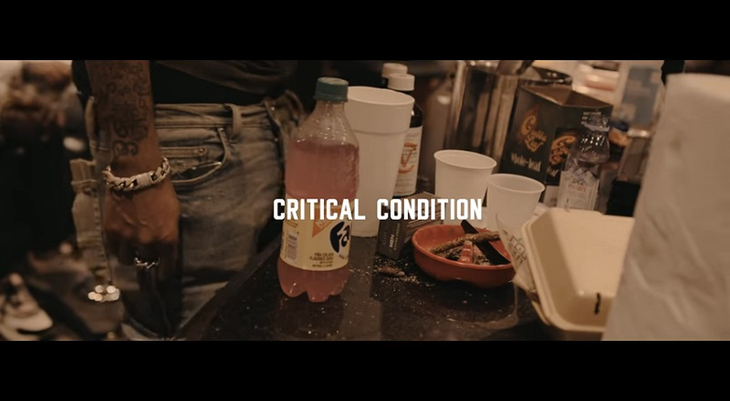 "Jackboy releases music video for his single, ""Critical Condition,"" featuring YFN Lucci."