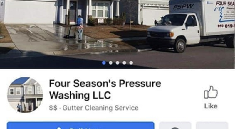 "The owner of Four Seasons Pressure Washing, in Wilmington, North Carolina, is being put on blast. On Facebook, he made several inflammatory remarks about the deaths of Trayvon Martin, George Floyd, Ahmad Abrey, and other deaths. He made several racist remarks, mainly towards black people, referring to them as ""criminals,"" also insulting Hillary Clinton and Colin Kaepernick."