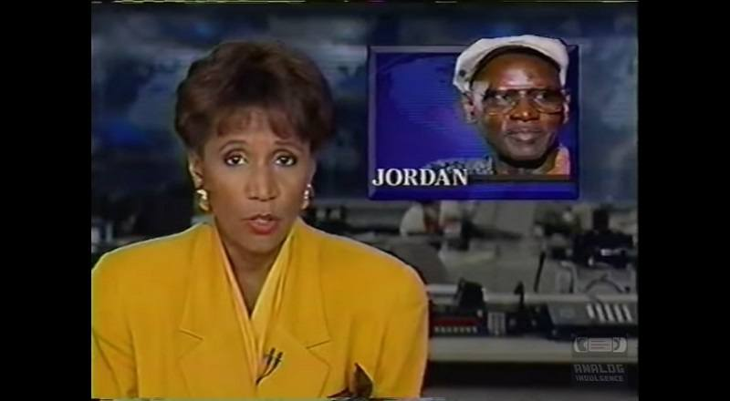 James Jordan report of his death, from several news outlets, in 1993.