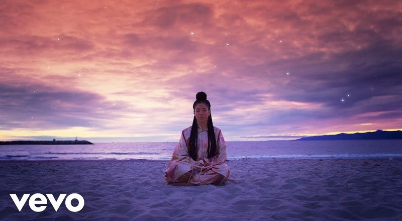 "Jhene Aiko releases music video for ""Magic Hour,"" her new single."