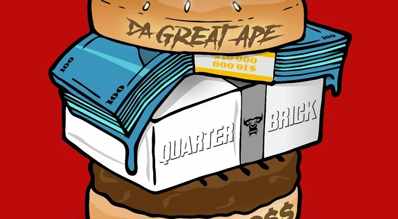 "Da Great Ape releases his new single, ""Quarter Brick,"" featuring Rick Ross."