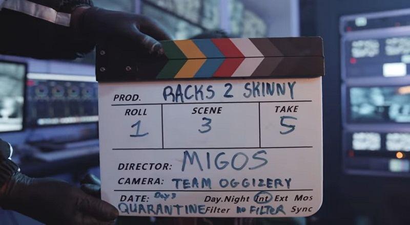 "Migos release ""Racks 2 Skinny"" music video, for new single."
