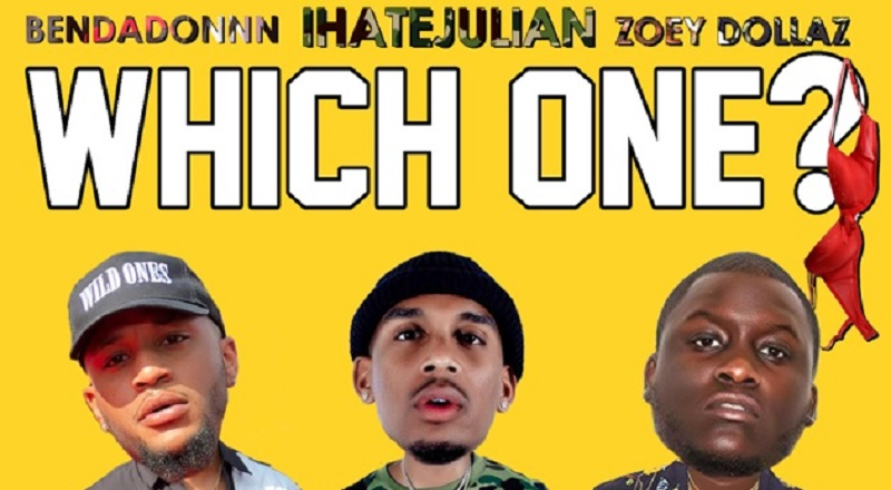 "iHateJulian delivers his single, ""Which One?,"" featuring Zoey Dollaz and BenDaDonnn."