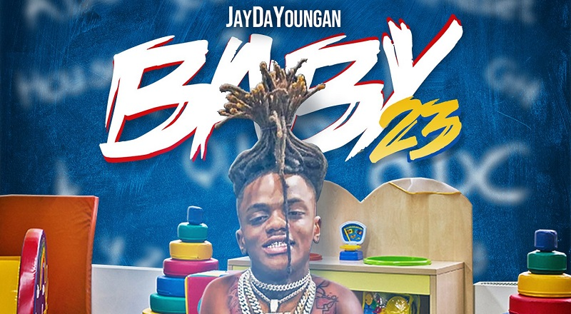 "JayDaYoungan releases his debut album, ""Baby23,"" featuring appearances from Kevin Gates, Moneybagg Yo, Mulatto, and more."