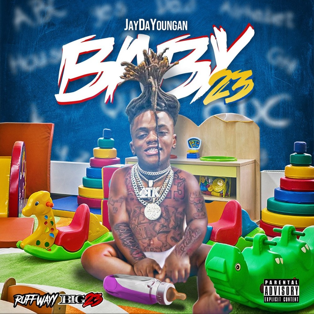 """JayDaYoungan releases his debut album, """"Baby23,"""" featuring appearances from Kevin Gates, Moneybagg Yo, Mulatto, and more."""