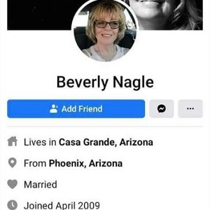 "Beverly Nagle is a mayoral candidate in Casa Grande, Arizona. She currently works at PHI Air Medical and recently got into an argument on Facebook. In the argument, she tells the woman ""f*ck you,"" before saying she is either ""one of them,"" or a ""n*gger lover, herself."""